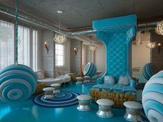 Stylish room Alice in wonderland