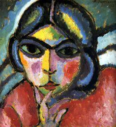 Alexej Georgewitsch von Jawlensky was a Russian expressionist painter active in…