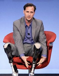 We can't argue with Hugh Herr, a double amputee, who says that he's no disable. Sci Fi Armor, Extraordinary People, People Change, Search And Rescue, Pre And Post, Climbers, Disability, Decir No, Php