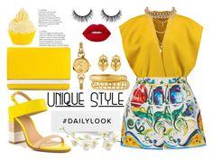 """Unique Style"" by yurisnazalieth ❤ liked on Polyvore featuring ALDO, Jil Sander, Fendi, Dolce&Gabbana, Bulgari, Ettika, Ashley Pittman, Kieselstein-Cord, Pier 1 Imports and Lime Crime"