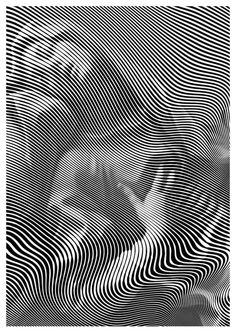 Новости Illusion Drawings, Illusion Art, Line Art Design, Graphic Design Art, Hacker Wallpaper, Futuristic Art, Generative Art, Optical Illusions, Erotic Art