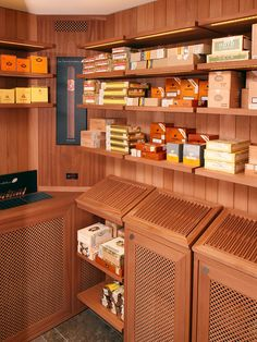 Marc Andre Diy Walk In Humidor Inside View