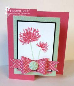 Susies kindness card/flowerbugs inkspot/5-7