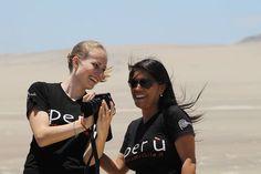 Nelle belle facce responsabili non potevano mancare loro : Julia e Martina .. #hastag #responsabletourism ##instatravel ##instaperu #faccedaviaggio http://ift.tt/2mzOVJf