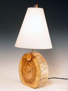 Table lamp. Desk lamp. Desert Driftwood. by highdesertdreams