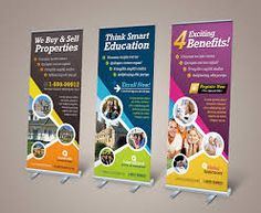 Graphic River Corporate Business Roll-up Banner by kinzi on deviantART Corporate Style, Corporate Flyer, Corporate Business, Brochure Template, Flyer Template, Rollup Design, Think Education, Standee Design, Bunting Design