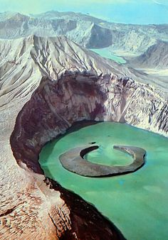 taal volcano on the island of luzon, philippines #wanderlust
