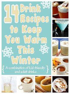 """Becky's and my delicious Caramel Apple Hot Toddy drinks makes another """"top drinks"""" list.  It is delicious!! home sweet home: 14 Drink Recipes to Keep You Warm This Winter"""