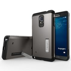 Spigen [Tough Armor] Galaxy Note 4 Case [$17.99]  More cases: http://www.androidauthority.com/best-samsung-galaxy-note-4-cases-539940/