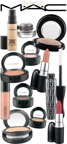 Best of MAC Cosmetics: These are the MAC makeup products that the pro makeup artists have in their kits!
