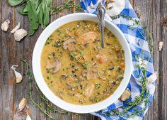 """If all of your favorite cold weather comfort foods were in a shouting match, who do you think would win? Because I'd put all my money on this chicken and wild rice soup right here. Oh yeah. Then I'd be shouting money money money money… money! (Don't worry, I have a """"jump to recipe"""" button… Read More"""