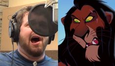 """Video - This guy sings Let It Go"""" in the voices of 21 Disney/Pixar characters. Impressive!!"""