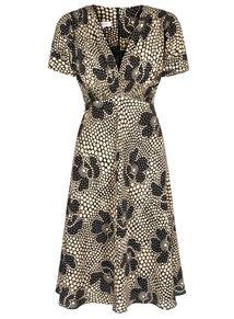 Suzannah:  30s Polka Silk Tea Dress