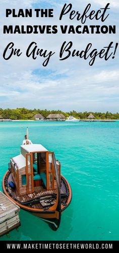 How to travel to the Maldives on a budget