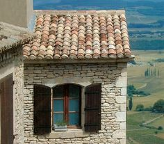 french roofs | Portalais | Blog: Antique French Roof Tile For Sale