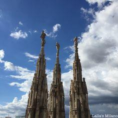 Duomo spires Burj Khalifa, Milan, Cathedral, Building, Travel, Viajes, Buildings, Cathedrals, Destinations