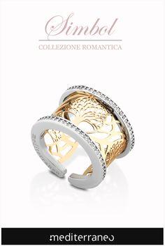 #anello in argento con albero della vita.