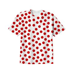 Red #Polka #Dot Tee #Shirt from Print All Over Me