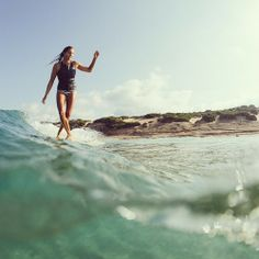 Lauren Hill on a stroll through Sardinia / bellavitafilm.com @theseakin @Billabong Women's Brasil #bellavitafilm