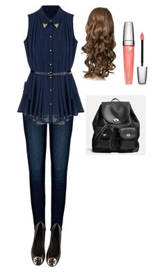 """""""first day of school outfit"""" by nerdgirl14-boss ❤ liked on Polyvore"""