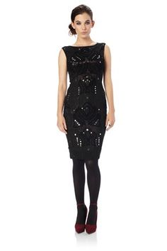 Bora Beading Dress - New Arrivals - French Connection Usa