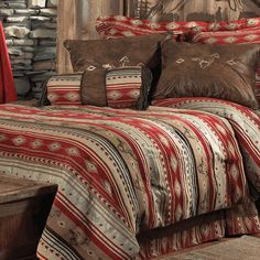 flying horse bed set fullqueen - Western Bedding
