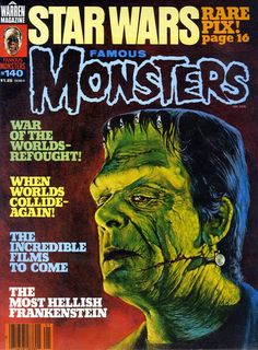 Classic Monster Movies, Classic Monsters, Classic Movies, Horror Comics, Horror Art, Marvel Comics, Fiction Movies, Science Fiction, Incredible Film