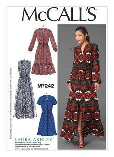 McCall's Misses' Dresses - Size: - Pattern: Clothes Crafts, Sewing Clothes, Clothing Patterns, Dress Patterns, Mccalls Sewing Patterns, Miss Dress, How To Make Clothes, Vogue, Boho