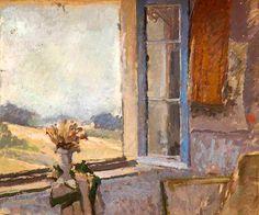 Your Paintings - Vanessa Bell paintings Vanessa Bell, Dora Carrington, Duncan Grant, Virginia Woolf, Window View, Open Window, Bloomsbury Group, Post Impressionism, Through The Window