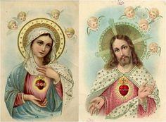 Corazones Unidos de Jesús y María.