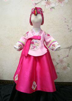 korean dangui | gongju dangwi(dangui) pink for girl (age2~15)