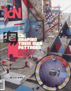 Creative Russia: IdN Magazine v19n4 by Designcollector Network, via Behance