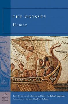 Greek poet Homer established the standard for tales of epic quests and heroic journeys with The Odyssey. Crowded with characters, both human and non-human, and bursting with action, The Odyssey details the adventures of Odysseus, king of Ithaca and hero of the Trojan War, as he struggles to return to his home and his waiting, ever-faithful wife, Penelope.