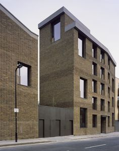Free Architecture Foundation Members' Tour of Jaccaud Zein Architects' Shepherdess Walk housing | Architecture Foundation