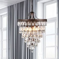 Found it at Wayfair - Martinee 4 Light Crystal Chandelier