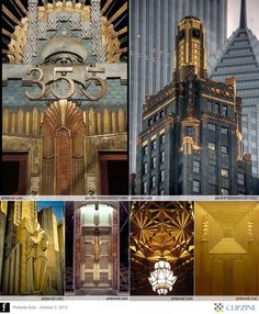 Art Deco movement in architecture! This buildings were really impressive!