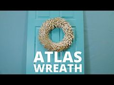 Hanging onto a paper atlas from your pre-GPS days? Upcycle it into a pretty leaf-inspired wreath. Get step-by-step instructions for this project: http://www....