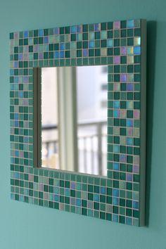 Mosaic Mirror Frame. Mirror, Mirror on the Wall.................