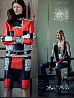 cool Vogue Brasil | Editorial Moda Março 2013 | Monika Sawicka, Josephine Skriver e mais por Fabio Bartelt