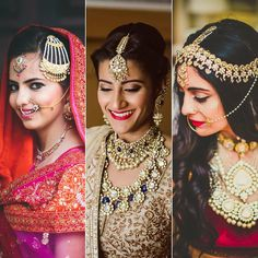 bridal jewelry for the radiant bride Wedding Looks, Red Wedding, Bridal Looks, Bridal Style, Wedding Things, Indian Bridal Wear, Asian Bridal, Bridal Accessories, Bridal Jewelry