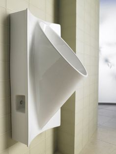 Waterless Urinals For Home And Commercial Use – How They Work - Still has drain Tiny House Bathroom, Master Bathroom, Toilette Design, Restaurant Bathroom, Smart Home Design, Restroom Design, Composting Toilet, Public Bathrooms, Bathroom Renovations