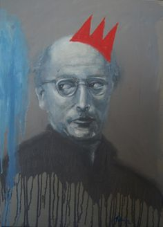 19.	MARK ROTHKO (1903-1970) – The influence of Rothko in the history of painting is yet to be quantified, because the truth is that almost 40 years after his death the influence of Rothko's large, dazzling and emotional masses of color continues to increase in many painters of the 21st century, self portrait