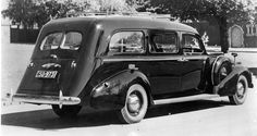 1937 Buick Hearse, Australia.
