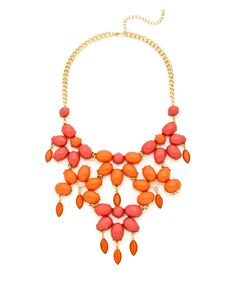 Falling Jewel Statement Necklace #shoplately Passion For Fashion, Jewels, Fall, Pretty, Wedding, Shopping, Ideas, Make Up, Zapatos