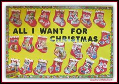 Christmas Bulletin Boards and Decorated Classroom Doors