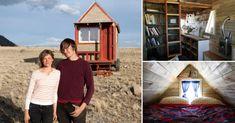 Vivir con lo mínimo indispensable: la pequeña casa de Christopher y Merete
