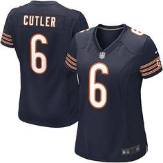 Shop for Official Womens Nike Chicago Bears http://#6 Jay Cutler Elite Team Color Blue Jersey. Get Same Day Shipping at NFL Chicago Bears Team Store. Size S, M,L, 2X, 3X, 4X, 5X.$129.99