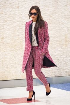 VICTORIA BECKHAM, who once announced that the airport was her runway, has been crowned the world's best-dressed traveller by British Airways.