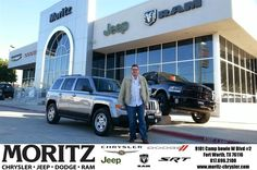 I left from their competitor ?edor Jeep in Fort Worth to come to Moritz Chrysler Jeep Fort Worth. Their Online pricing was right straight and simple. Lyon Alizna is a very nice guy, low pressure and it was a very good experience to work with him. While in Finance, you gotta love Luiza, she was so nice......Moritz Jeep Fort Worth....was very good! - Rick Vourazeris, Thursday, November 20, 2014 http://www.moritzchryslerjeep.com/?utm_source=Flickr&utm_medium=DMaxxPhoto&utm_campaign=DeliveryMaxx