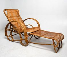 24 Vintage And Antique Bamboo Chair Designs To Your Classic House